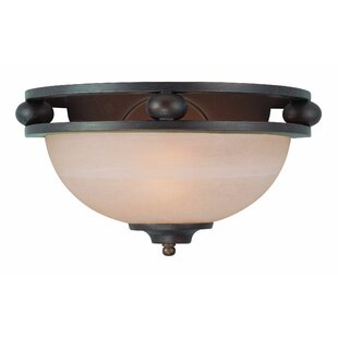 Savings Moseley 1-Light Flush Mount By Alcott Hill
