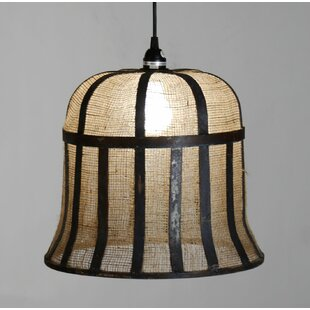 Gracie Oaks Rye Bell Inverted Pendant