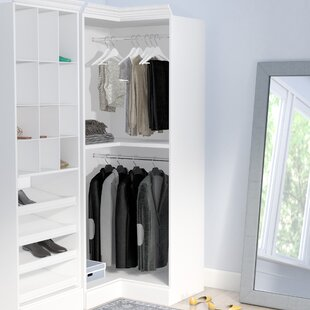 Check Prices Billington 35.8W Closet System By Three Posts