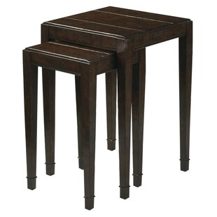 Big Save Bourbon 2 Piece Nesting Tables By Reual James