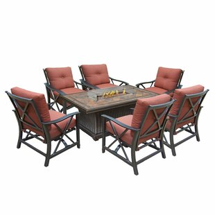 Darby Home Co Estefany 6 Piece Conversation Set with Cushions
