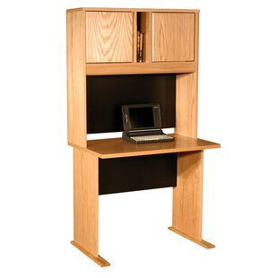 Office Modulars Desk with Hutch by Rush Furniture