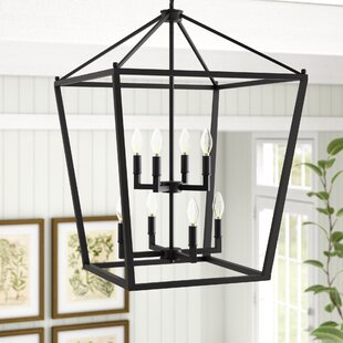 Maggiemae 8-Light Lantern Pendant by Grac..