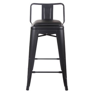 Alric 24 Bar Stool (Set of 4) 17 Stories