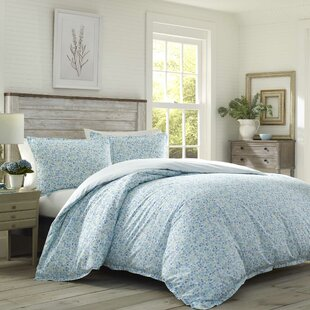 Jaynie 100% Cotton Reversible Duvet Cover Set by Laura Ashley Home