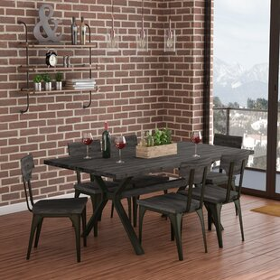 Darcelle 7 Piece Solid Birch Dining Set 17 Stories