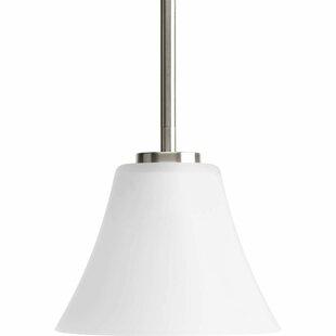 Karla 1-Light Cone Pendant by Fleur De Lis Living