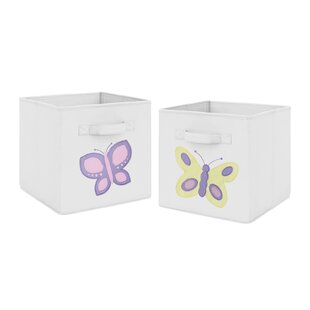 Butterfly Fabric BIn BySweet Jojo Designs