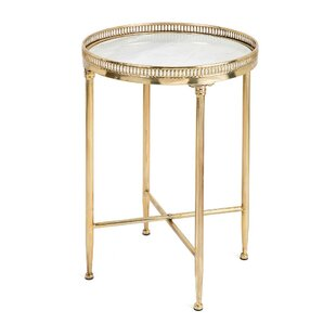 Langworthy Circular End Table by House of Hampton
