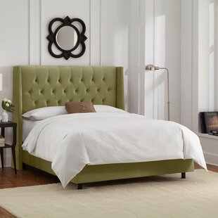 Raleigh Tufted Upholstered Panel Bed