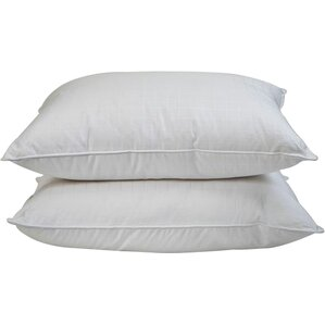 plush bed pillow set of 2