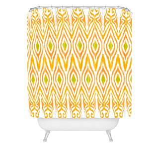 Amy Sia Ikat Single Shower Curtain