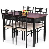 Ansilme 5 - Piece Dining Set by Red Barrel Studio®