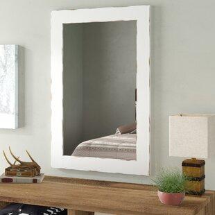 Longwood Rustic Beveled Wall Mirror