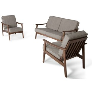 Fontana 3 Piece Living Room Set