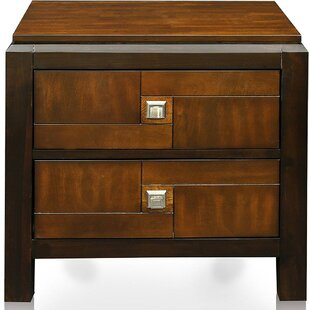 Rountree 2 Drawer Nightstand