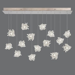 Fine Art Lamps Natural Inspirations 15-Light Cluster Pendant
