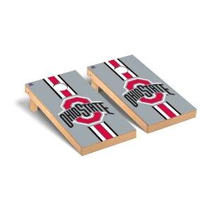 Ohio State OSU Buckeyes Stripe Version Cornhole Game Set By Victory Tailgate