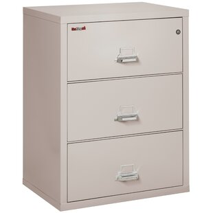Fireproof 3-Drawer Lateral File Cabinet by FireKing Cool