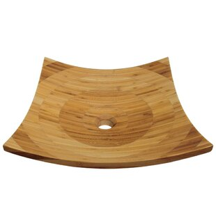 MR Direct Bamboo Square Ve..