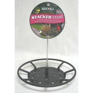 Birdola Products Stacker Stand Wild Tray Bird Feeder