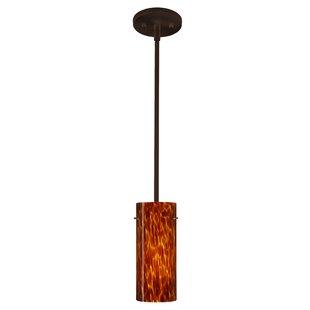 Besa Lighting Stilo 1-Light Cylinder Pendant