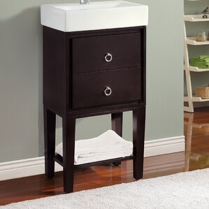 Modern Bathroom Vanity With Drawers modern & contemporary bathroom vanities you'll love | wayfair