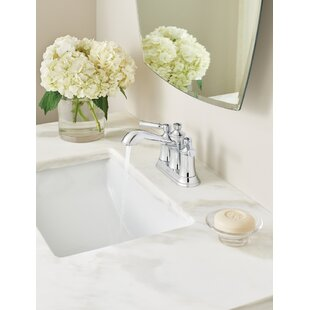 Compare Dartmoor Standard Centerset Bathroom Faucet with Drain Assembly ByMoen