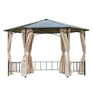13 Ft. W x 13 Ft. D Metal Patio Gazebo by Outsunny