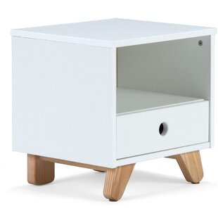 Tuohy 1 Drawer Bedside Table By Zoomie Kids