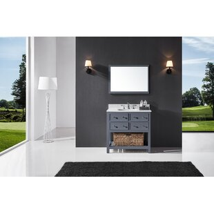 Savings Celestia 36 Single Bathroom Vanity Set with Mirror By Three Posts