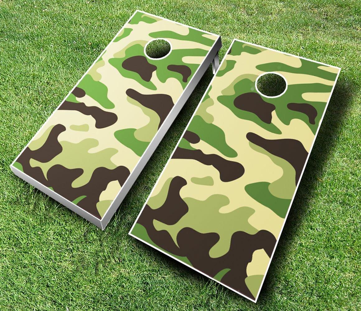 8 Quality Cornhole Bags set of 8 including camo camouflage fabrics
