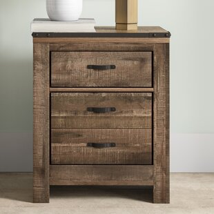 Rawtenstall 2 Drawer Nightstand