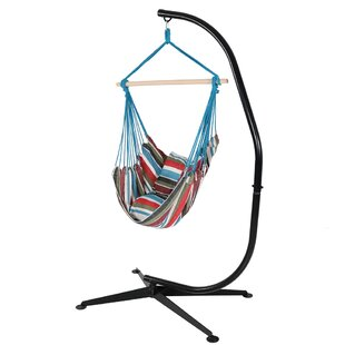 Bay Isle Home Sisco Chair Hammock with Stand