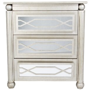 Alleyne 3 Drawer Rectangular Accent Chest