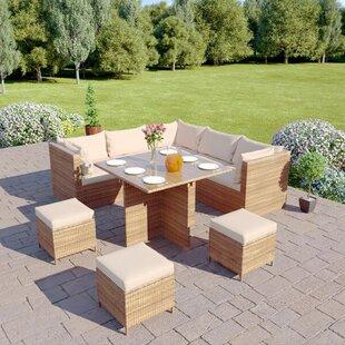 Larissa 8 Seater Rattan Corner Sofa Set By Sol 72 Outdoor