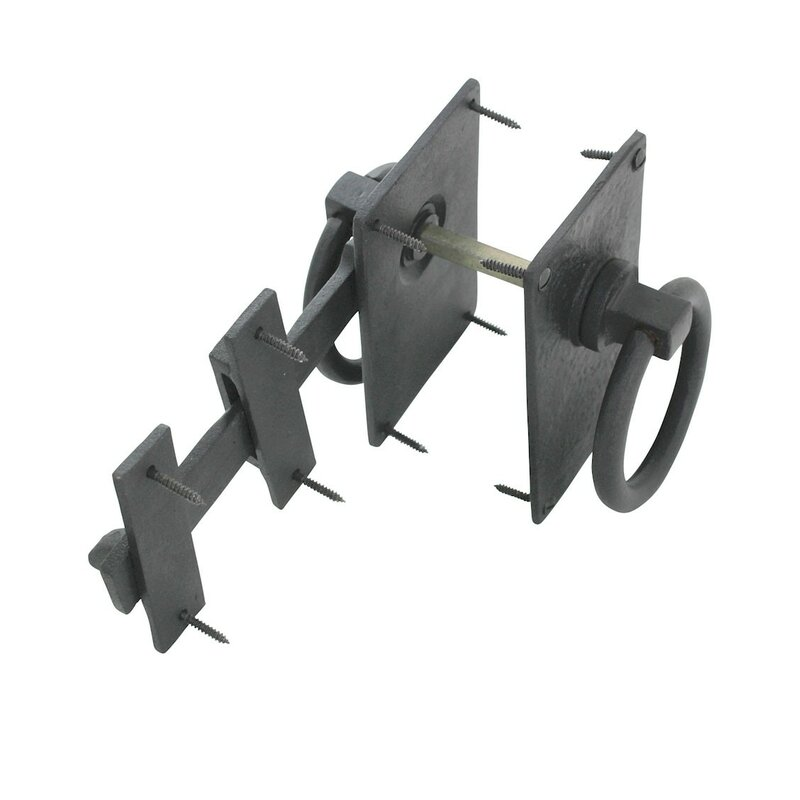 Iron Lock Colonial Fence Gate Latch