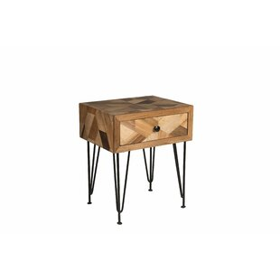 Union Rustic Manges Side Table with Storage