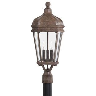 Buying Harrison Large Outdoor 3-Light Lantern Head By Great Outdoors by Minka
