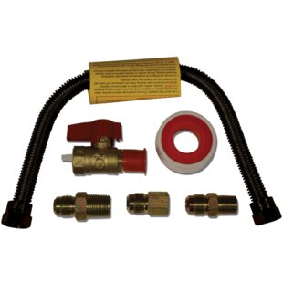 Universal Gas Appliance Brass Hook Up Kit By Duluth Forge
