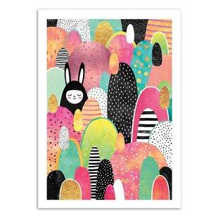 Flux Paper Print By Ebern Designs