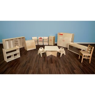 Price comparison 13 Piece Infant/Toddler Classroom Storage Set By Wood Designs