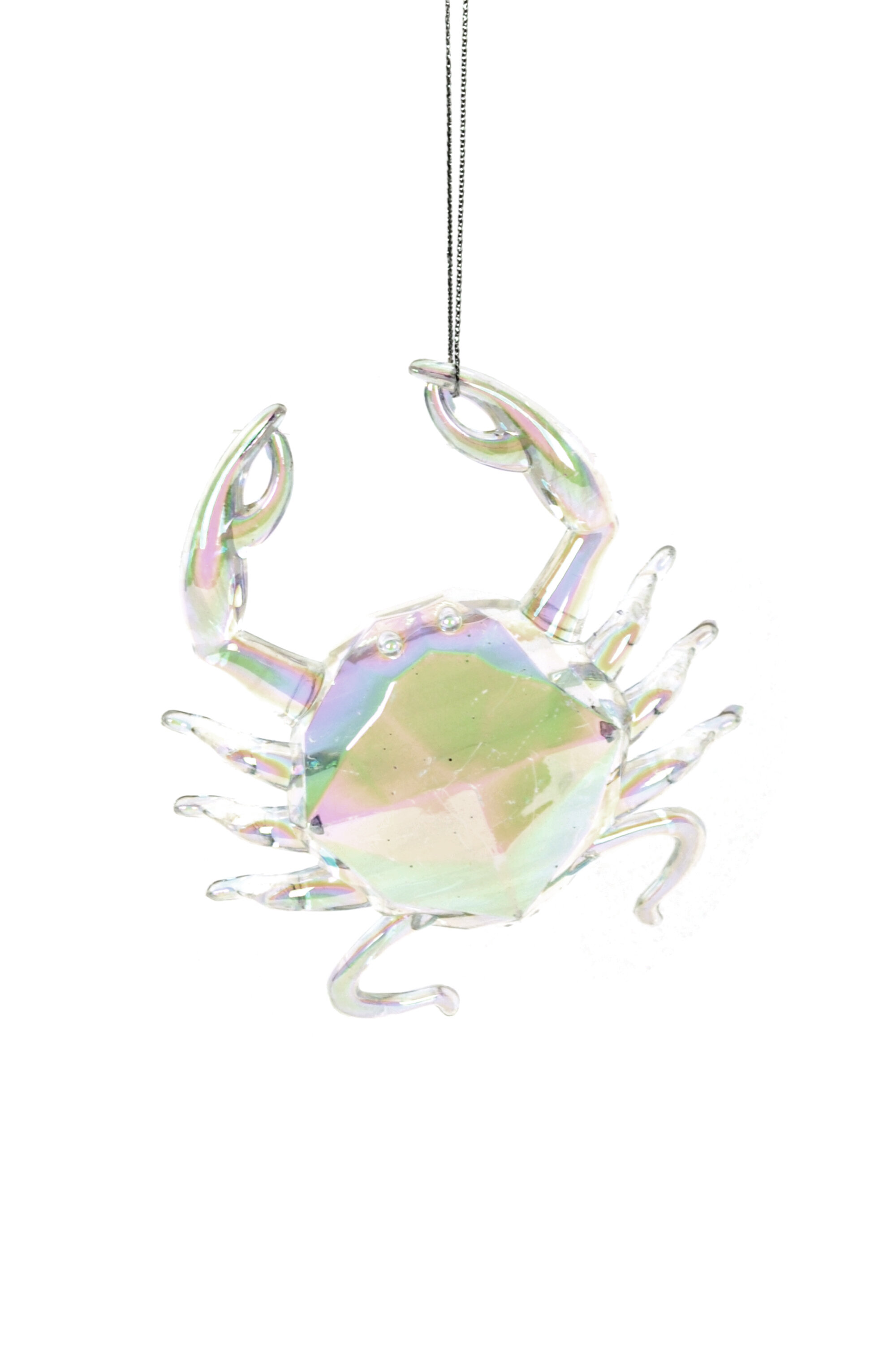 The Holiday Aisle Clear Crab Hanging Figurine Ornament Wayfair