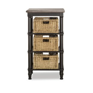 Highland Dunes Holst Accent Chest - 3 Baskets Included