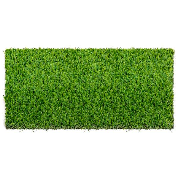 "Synthetic grass vinyl lawn turf mat 40/"" x 12ft"