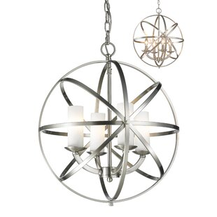 Fridley 4-Light Globe Chandelier By Ivy Bronx
