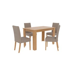 Sears Dining Set With 4 Chairs By Mercury Row