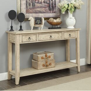 Big Save Stas 3 Drawer Console Table By Darby Home Co
