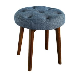 Astonishing Penelope Round Tufted Accent Stool Theyellowbook Wood Chair Design Ideas Theyellowbookinfo
