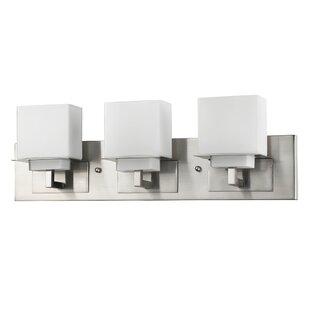 Ebern Designs Mcgarry 3-Light Vanity Light